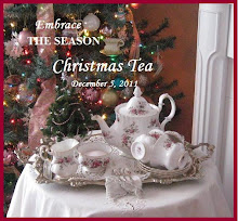 Please join me for my christmas Tea at my other blog Rose Chintz Cottage