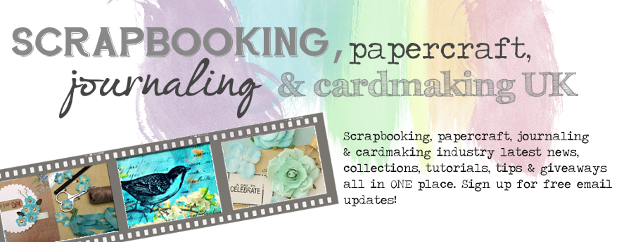 Scrapbook, papercraft, journaling & cardmaking UK