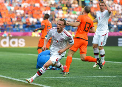 Hasil Skor Belanda Vs Denmark | Hasil Piala Eropa 2012