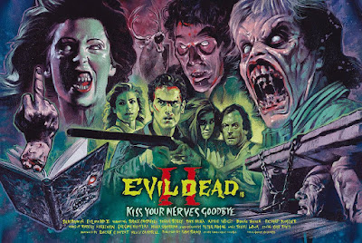 The Evil Dead 2 Screen Print by Graham Humphreys & Silver Bow Gallery
