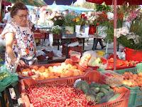 Termelő a piacon