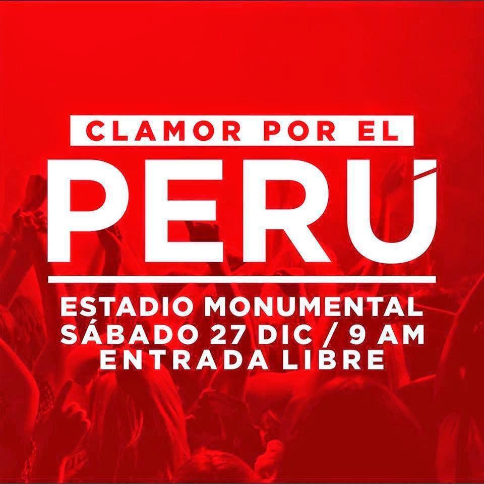 Únete al ¡Clamor por el Perú!