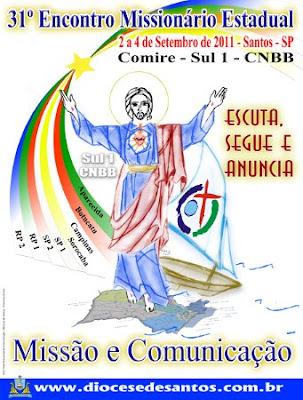 """""""Missão e Comunicação"""" é o tema do 31º Encontro Missionário Estadual que acontece em São Paulo"""