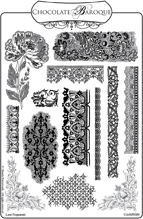lace drawing pattern - photo #18