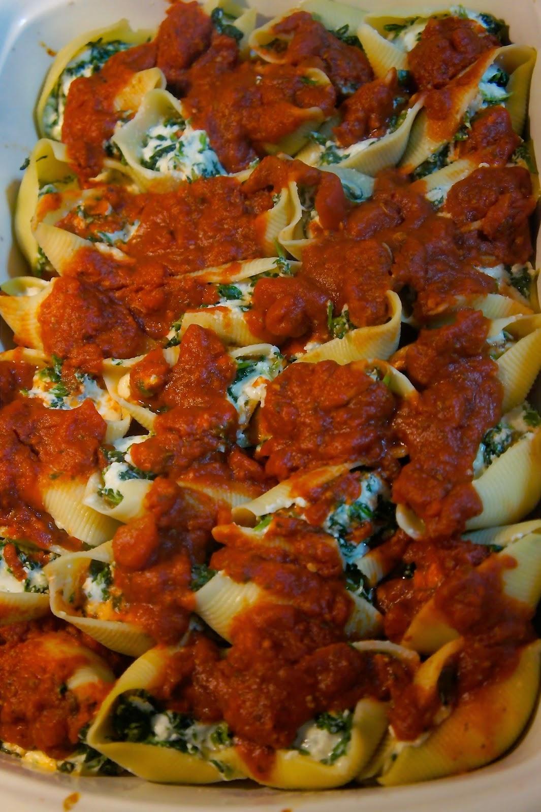 Stuffed Pasta Shells: Savory Sweet and Satisfying