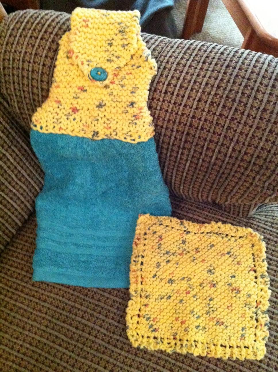 Вязание вязаное полотенце