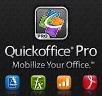 Download Quickoffice Pro and Pro HD for Android Devices Updated with Keyboard Shortcuts and More
