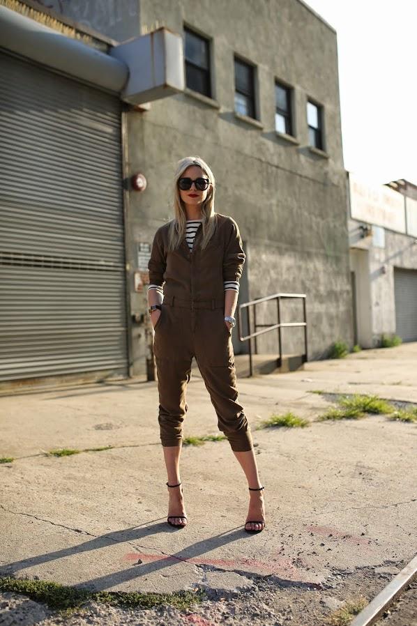 Atlantic-Pacific's Blair Eadie in a layered jumper look