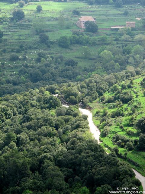Una vista des del Puig de Tagamanent.