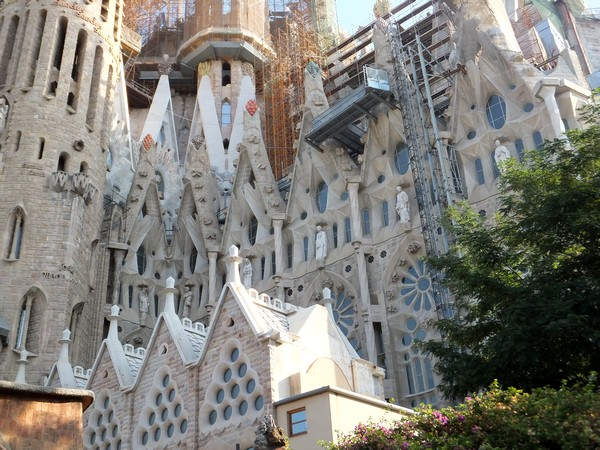 barcelone gaudi sagrada familia
