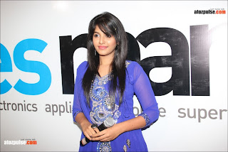 Anjali+in+blue+at+yes+mart+16+  +AtoZpuLse.com Exclusive Anjali latest cute photos   AtoZpuLse