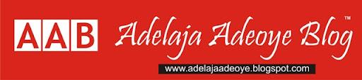 Adelaja Adeoye's Blog