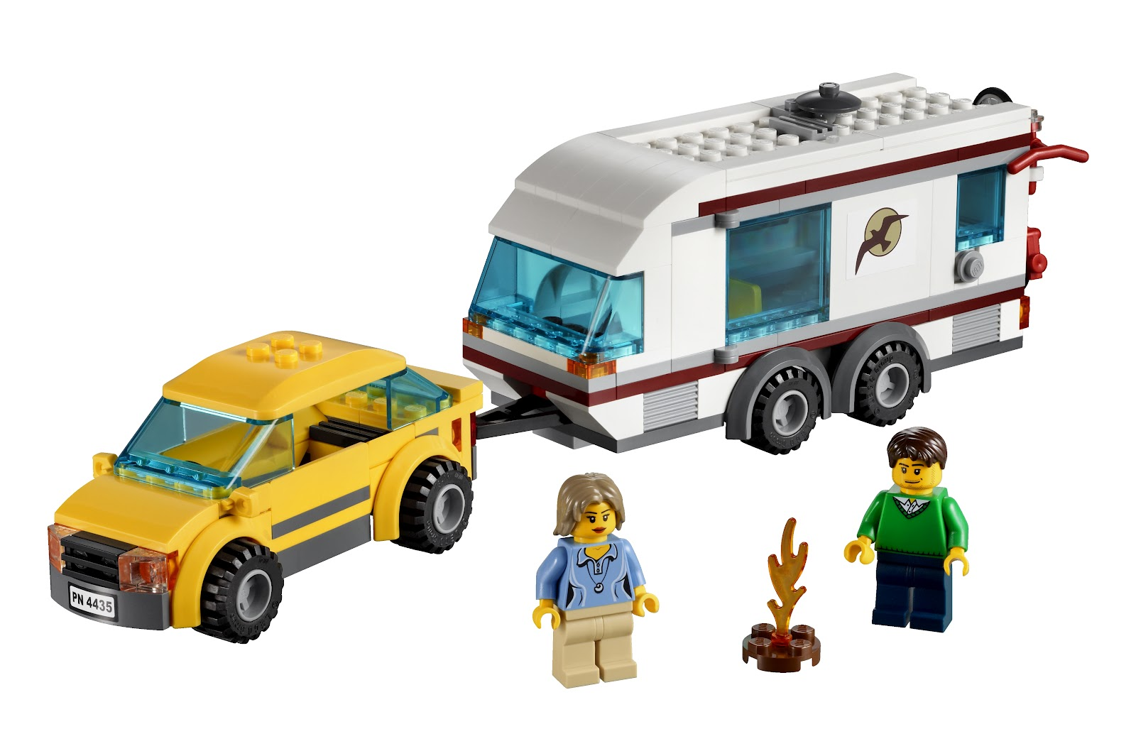 Lego City Toys : Review lego city great vehicles car caravan the