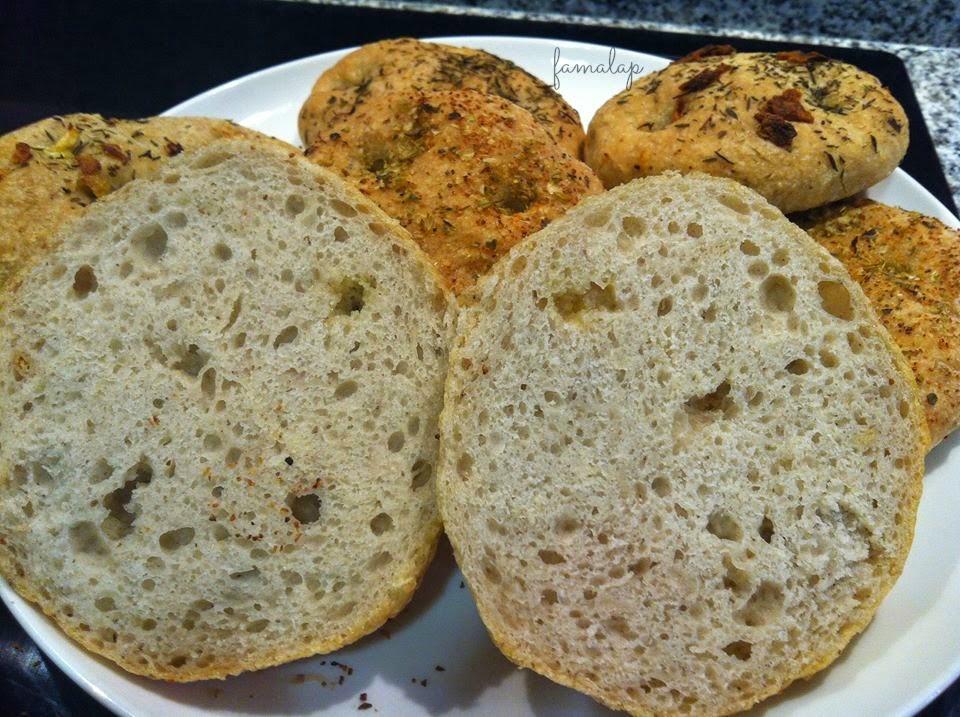 Cocina f cil sin gluten focaccinas sin gluten - Cocina facil sin gluten ...