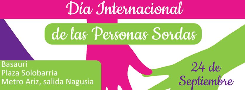 Dia Mundial de las Personas Sordas