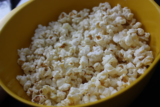 Movie Night Popcorn and Snacks