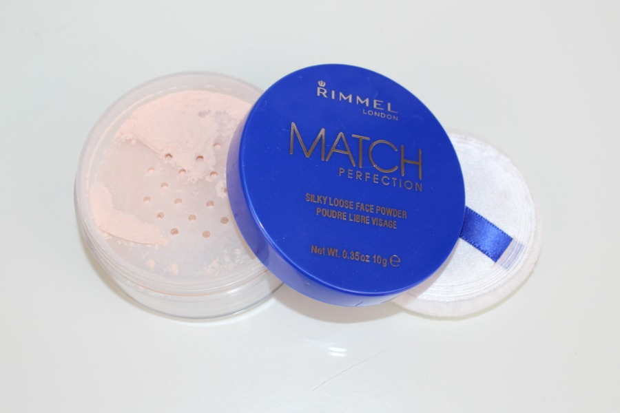 Rimmel Match Perfection Loose Powder Review and Photos