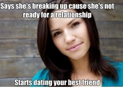 Breaking Up Because She's Not Ready For A Relationship
