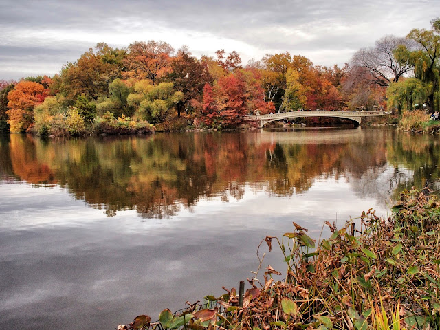 Bow Bridge, Central Park, NYC, 2013