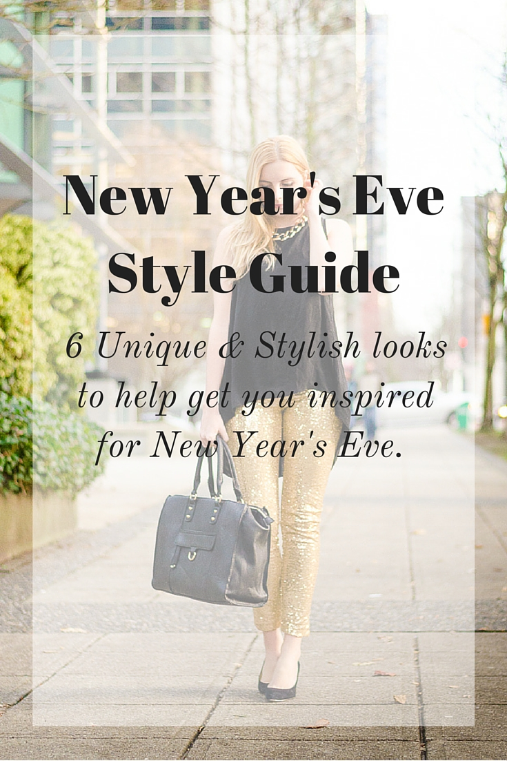 New Years Eve Outfit Ideas - Vancouver Style Blog | The Urban Umbrella