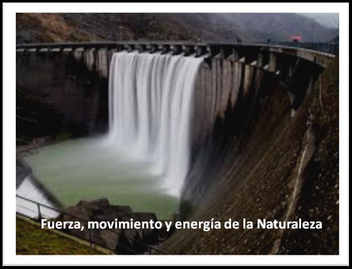 Fuerza, movimiento y energía de la NATURALEZA