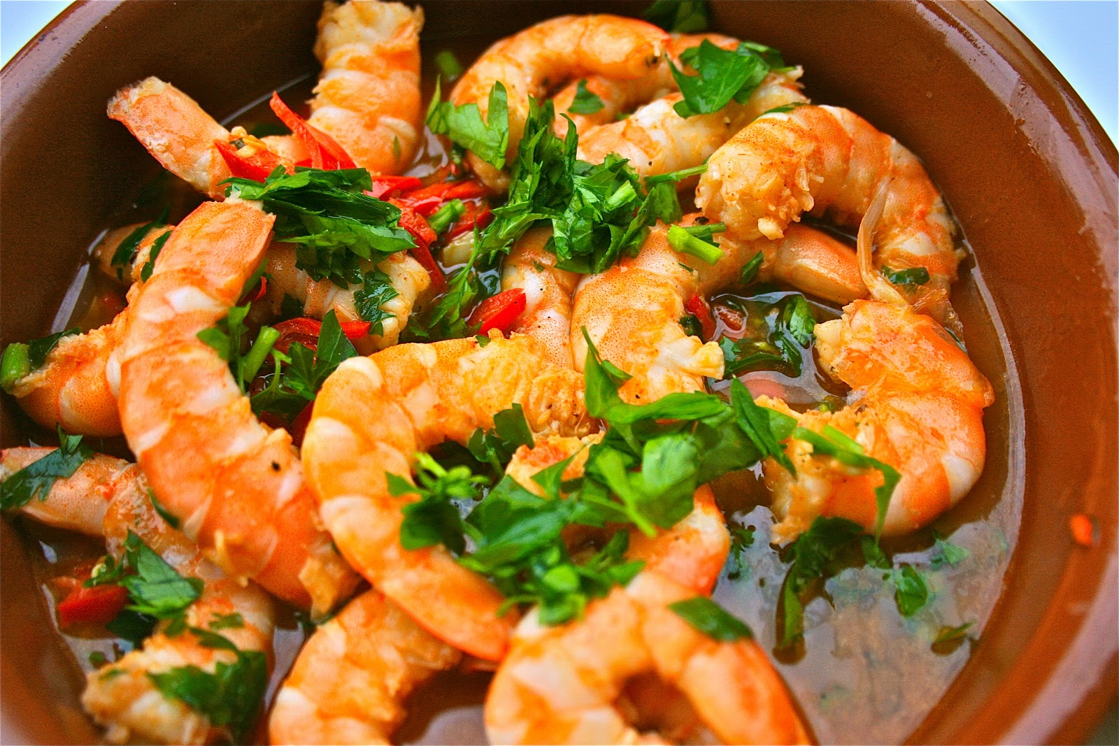 Johnny's Kitchen: Gambas Pil Pil