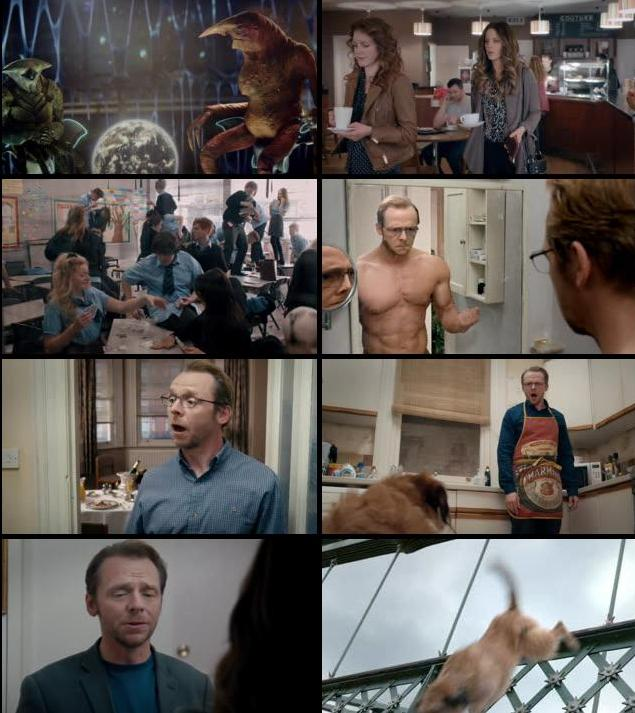 Absolutely Anything 2015 English DVDRip XviD
