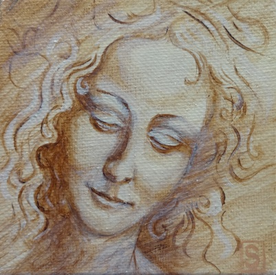 sea dean paint a masterpiece angel face mini master series