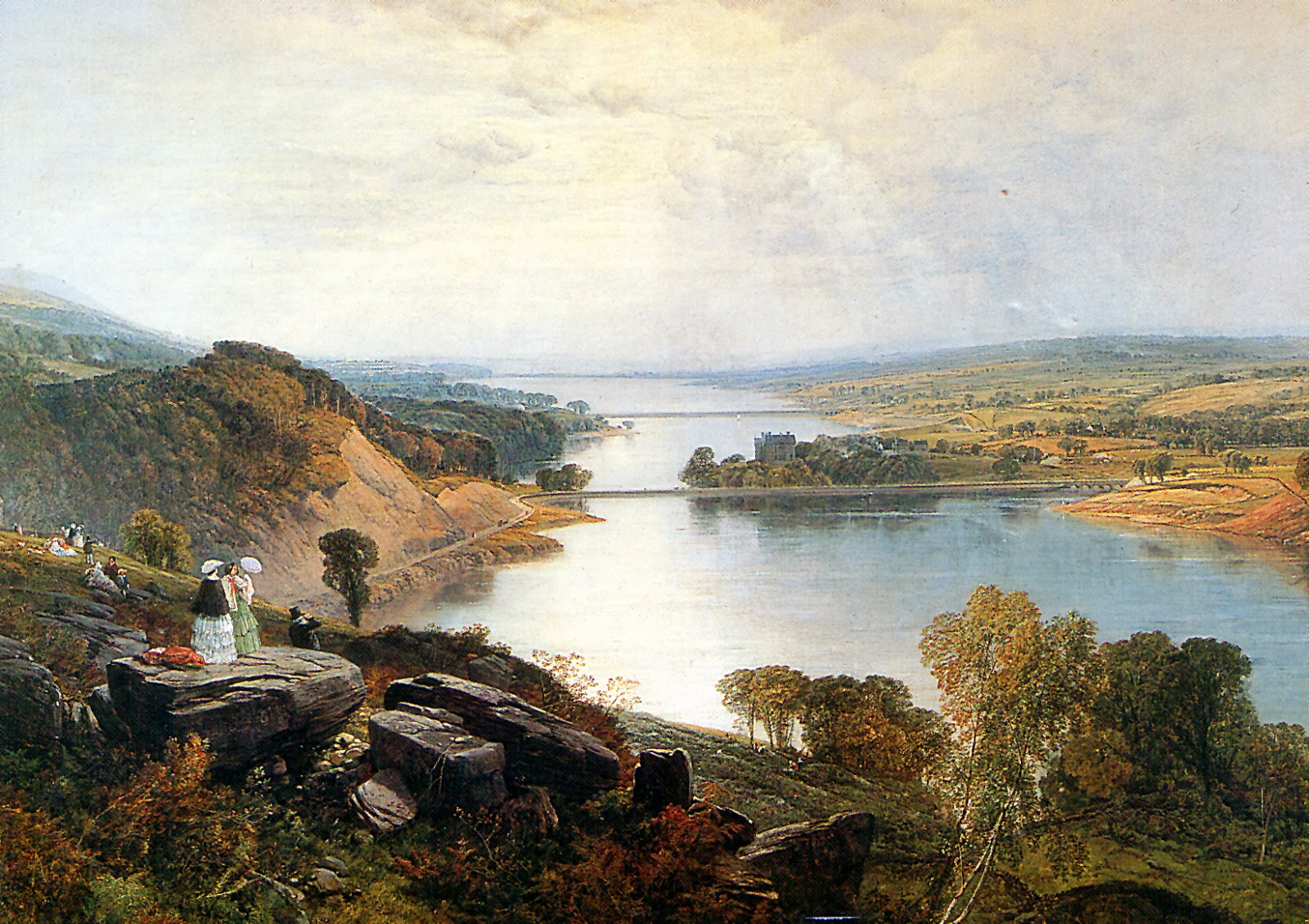 Victorian british painting frederick william hulme for The rivington