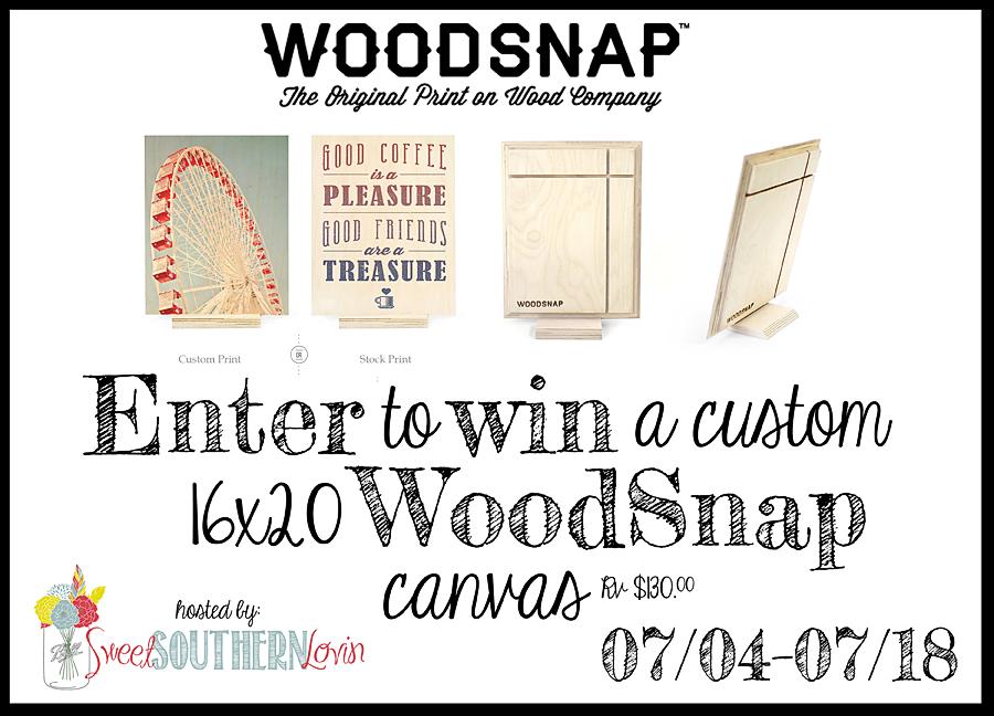 WoodSnap Custom 16x20 Giveaway