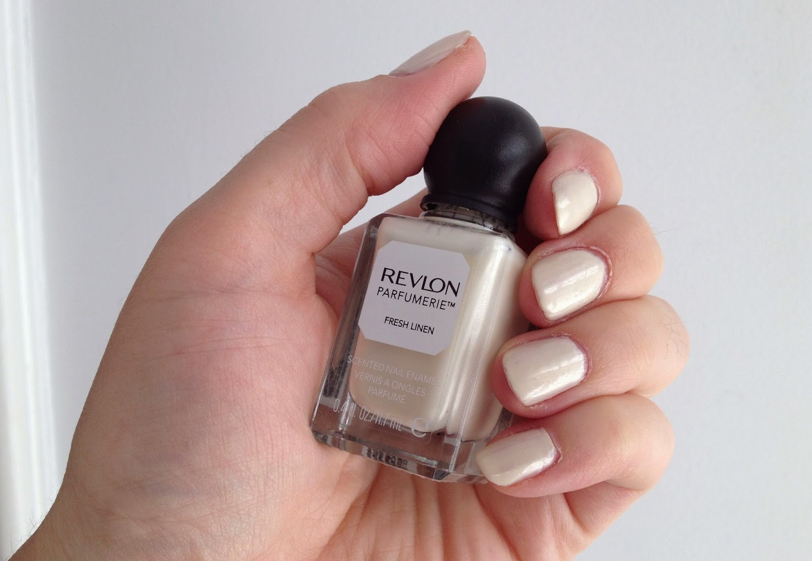 Revlon Parfumerie scented nail polish Fresh Linen