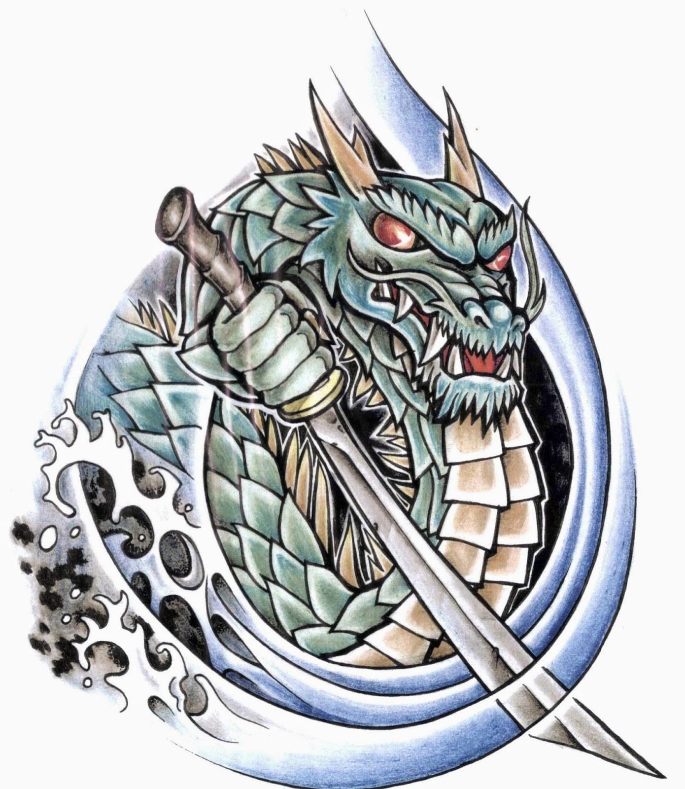 Тату дракона эскизы и картинки с драконами tatufoto ru - татуировки дракона эскизы