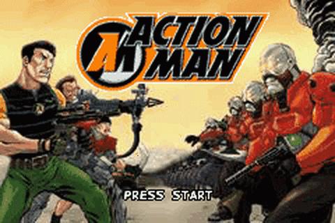 Action Man Robot Atak Game