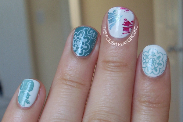 Winter Themed Stamping