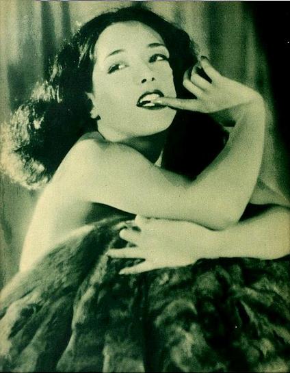 vintage portrait lupe velez