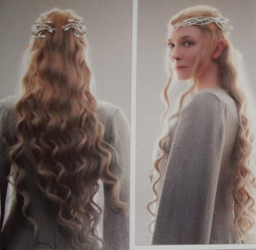 quand un nain rencontre une elfe  coiffure inspiration Galadriel
