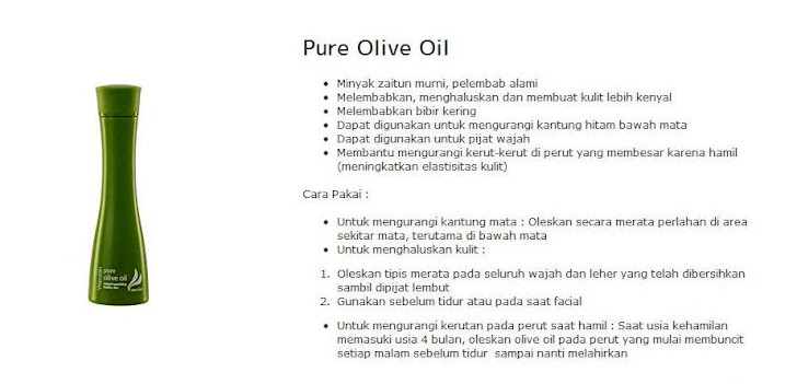 Pure Olive Oil -$8