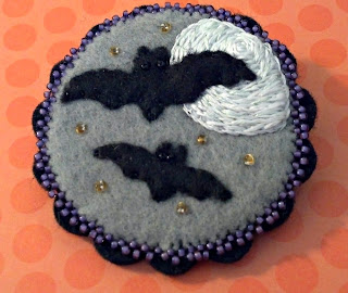 Little Batty Broach by Lisa Leggett