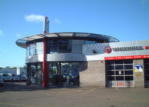 Vauxhall Showroom