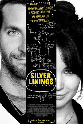SILVER LININGS PLAYBOOK 2012 MOVIE POSTER