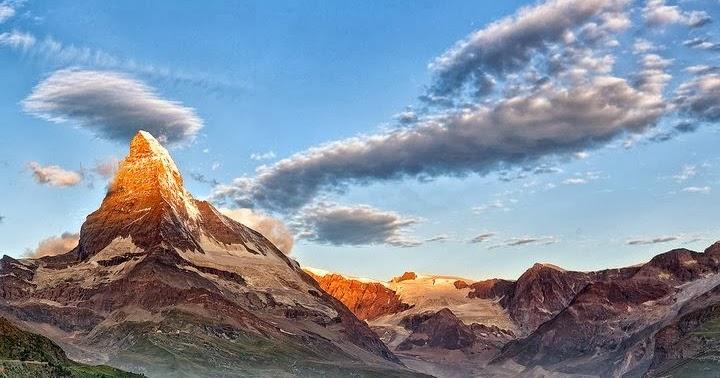 Alluring Planet Matterhorn Swiss Alps