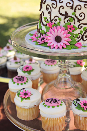 Lovely Wedding Cupcake Towers