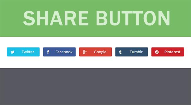 Memasang Widget Share Button diBlogponsel