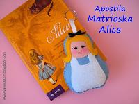 Apostila Matrioska Alice no País das Maravilhas