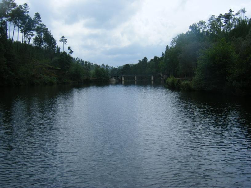 Zona para andar de barco
