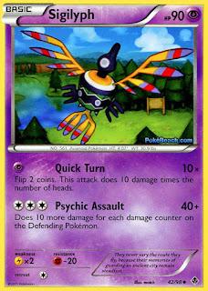 Sigilyph #42/98 Emerging Powers Pokemon Card