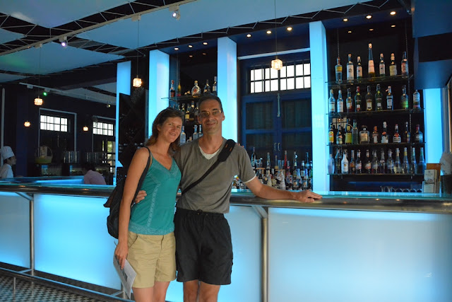 Blue Elephant Restaurant Phuket bar