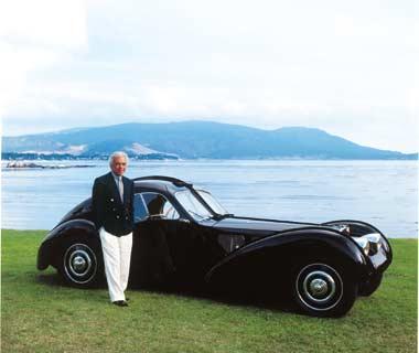 Heidi klum Wallpaper  RALPH LAUREN SHOWS HIS CLASSIC CAR