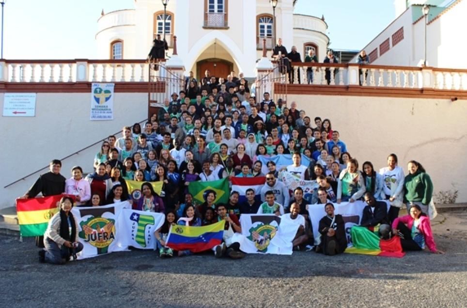 Encontro Internacional da JUFRA em São João Del Rei/MG - 2013
