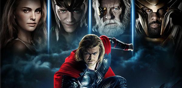 Thor Blu-ray banners
